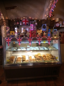 Don't forget to stop off at the bakery to take home some scones!