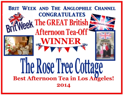 The Best Afternoon Tea in Los Angeles! Voted on by Brit Week guests and Afternoon Tea Fans!