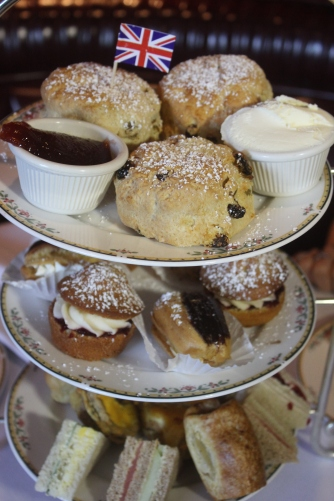 "Ye Olde King's Head Tea Room offers special teas for holidays and special events such as ""BritWeek"""