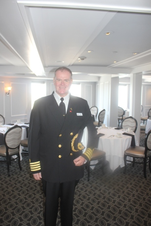 Commodore Everette Hoard greeted us as we arrived The Tea Room. We can't always promise you'll have the honor of taking tea with the Commodore!