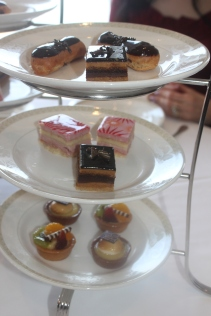Our favorite part of Afternoon Tea the petit fours!