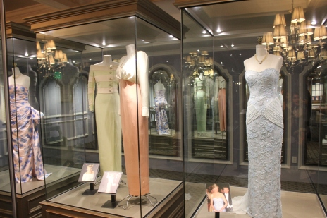 Diana: Legacy of a Princess exhibit offers a beautiful collection of Diana's gowns and royal memorabilia.