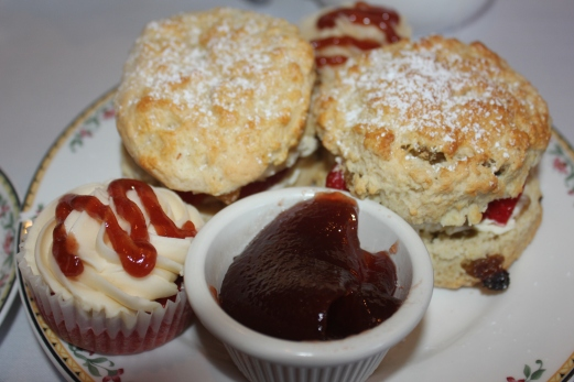 Ye Olde King's Head's famous freshly baked scones!