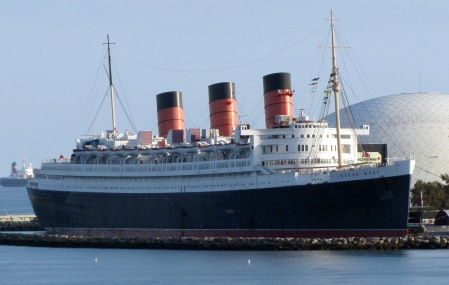 The RMS Queen Mary named after current Queen Elizabeth II's grandmother, Mary of Teck Queen Consort to King George V