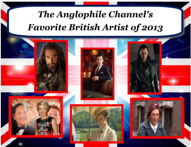 Vote for your Favorite British Artist of 2013!