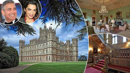 Downton Abbey's Highclere Castle to play host to Hollywood royalty!