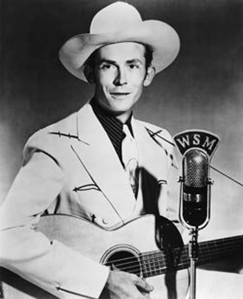 Country music legend, Hank Williams