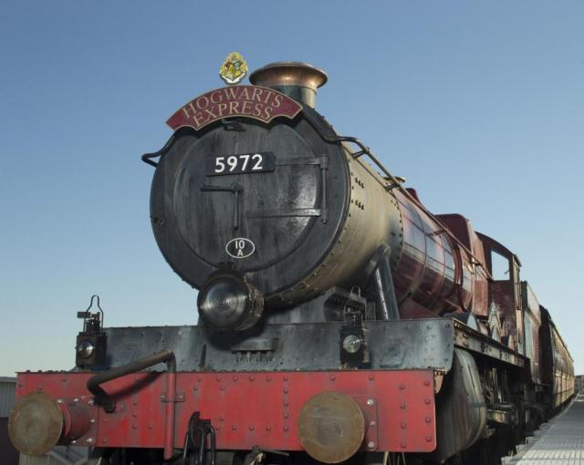 All aboard The Hogwarts Express...you paid for it!