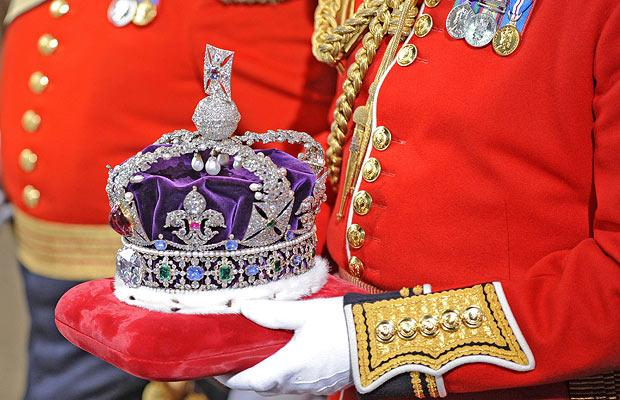 The Imperial State Crown dates back to King George VI