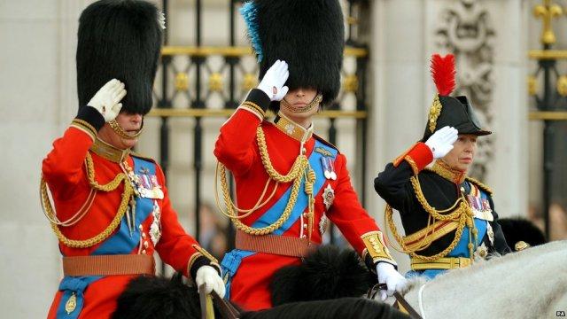 A royal salute!