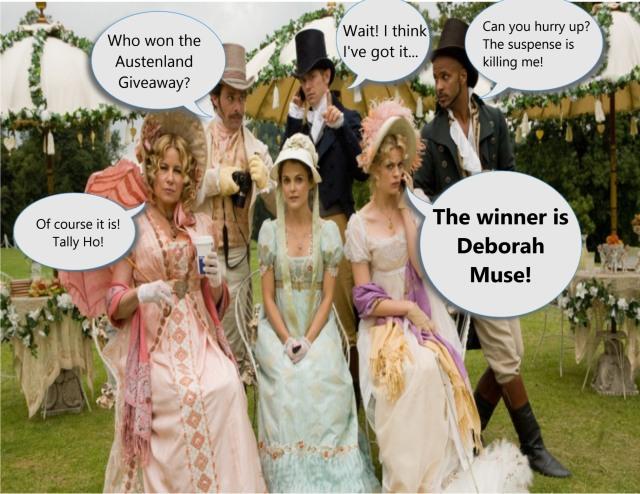 Congratulations Debb Muse!