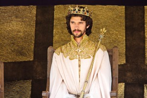 Ben as King Richard in The Hollow Crown