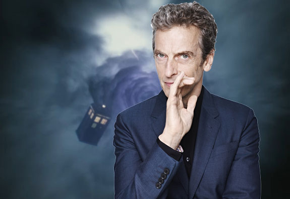 "The new Doctor says, ""Shh! Mums the word!"""