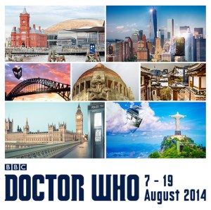 The TARDIS will embark on a 7-city world tour on Aug 7!