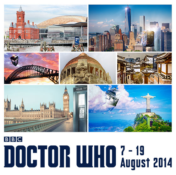 The TARDIS embarks on a 7-city world tour on Aug 7!