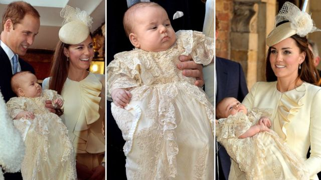 Prince George's Christening on October 23, 2013