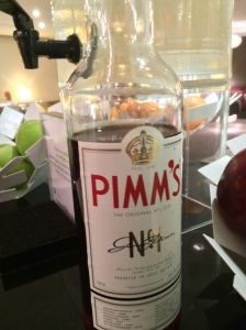 It wouldn't be British if they didn't offer Pimms Cup!