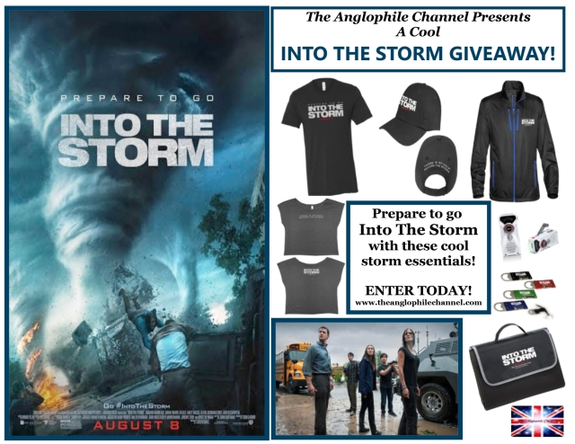 Win this cool Into The Storm prize package!