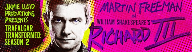Richard III at The Trafalgar Studios. Stand and applaud!