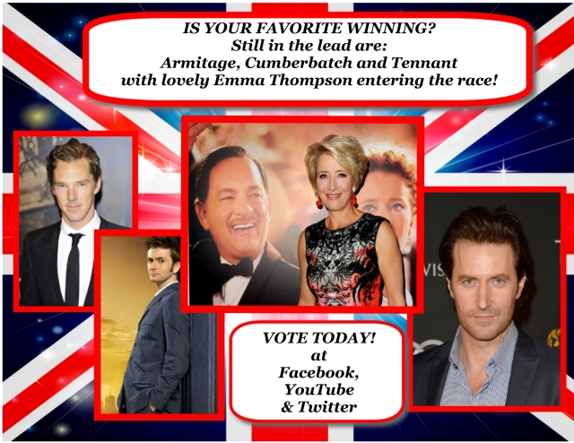 Is your favorite still in the lead? KEEP VOTING!