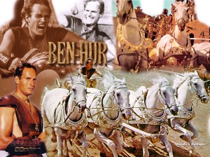 Charlton Heston in the original 1959 classic, Ben Hur