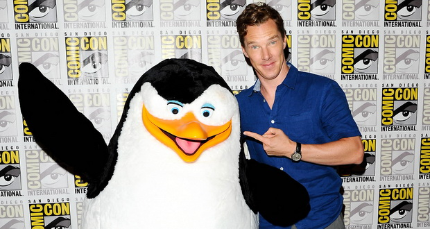 Cumberbatch at his first Comic Con