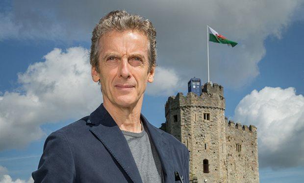 I spot the TARDIS!