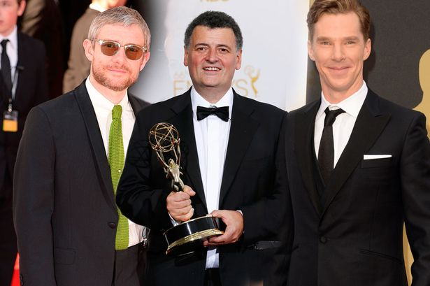 A big night at the Emmys for Team Sherlock!