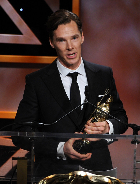 Benedict Cumberbatch last year's Favorite British Artist of the Year