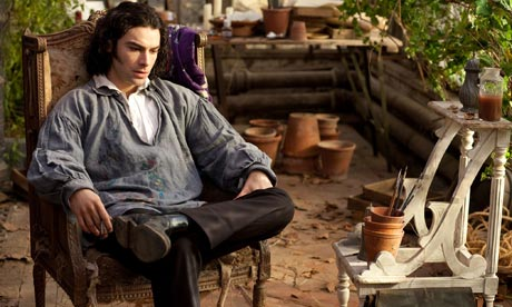 Aidan Turner as artist, Dante Gabriel Rossetti in Desperate Romantics