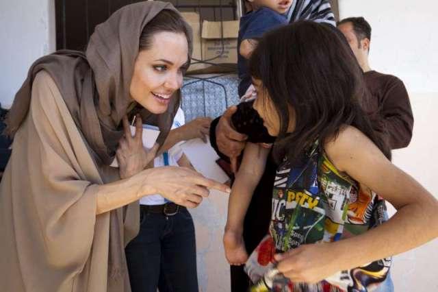 UNHCR Special Envoy Angelina Jolie
