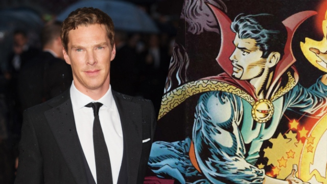 Cumberbatch: Superhero!