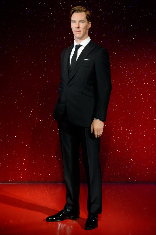 Red Carpet ready is the CumberBabe at Tussauds!