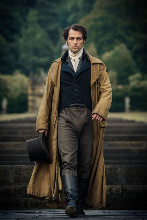 Matthew Rhys has some big shoes to fill as Mr Darcy!
