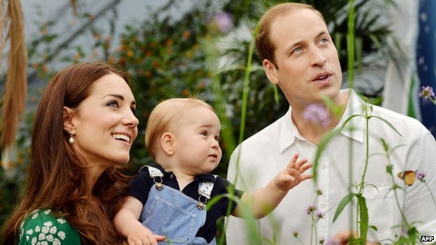 Another royal baby due in April!