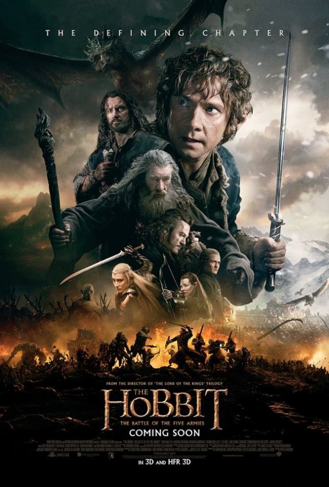The Hobbit: The Battle of The Five Armies...the epic finale!