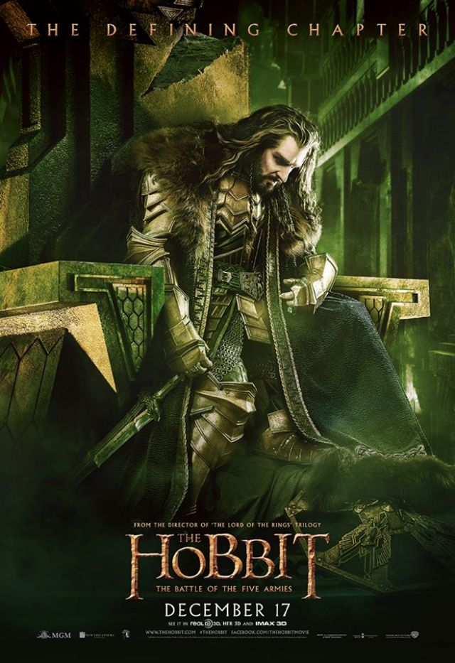 Brilliant as Thorin Oakenshield is Oscar worthy Richard Armitage.