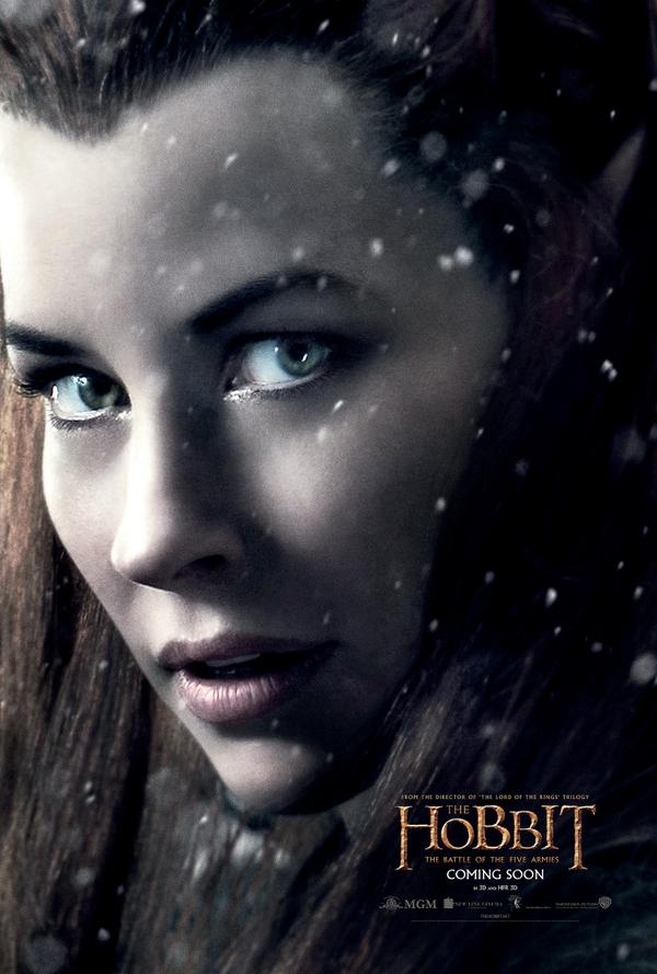The beautiful Evangeline Lilly as Tauriel!