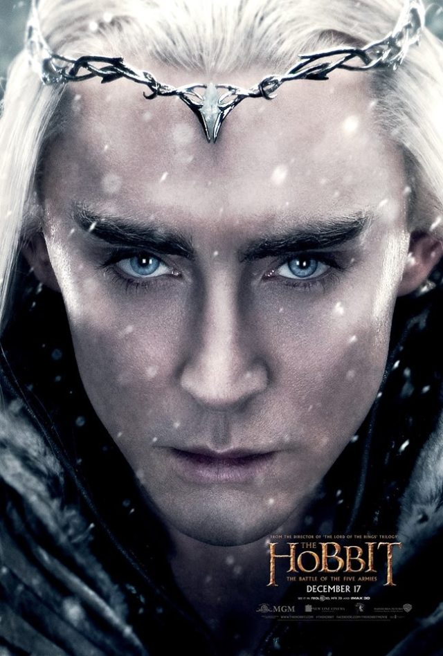 Lee Pace returns as Elvenking Thranduil