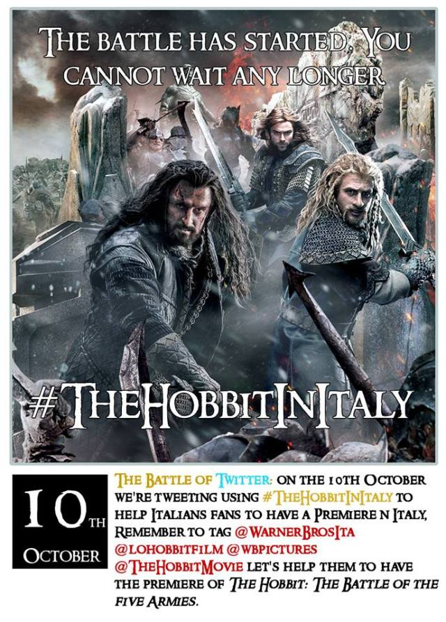 The Hobbit In Italy? Count Me In!