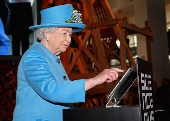 Her Majesty's First Tweet
