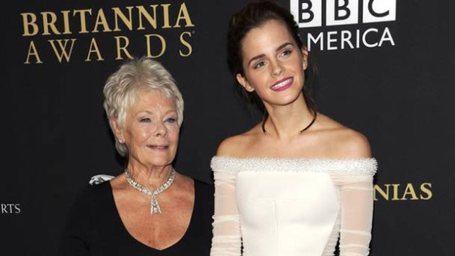 Two of our favorites: Dame Judi Dench and Emma Watson
