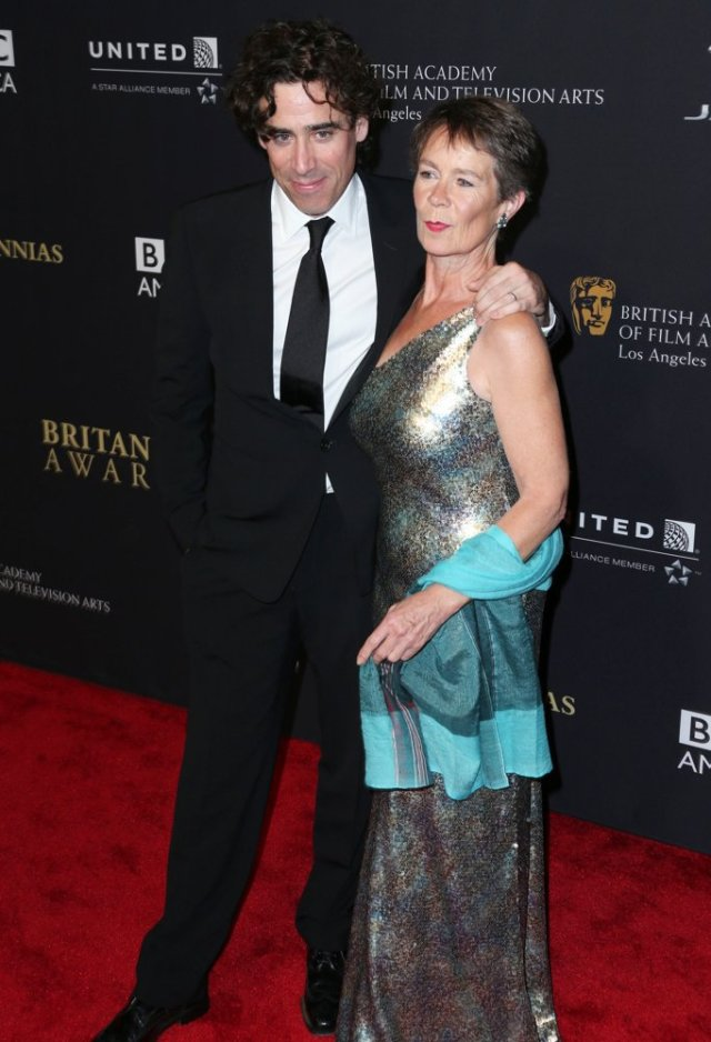 Stephen Magnan and Celia Imrie