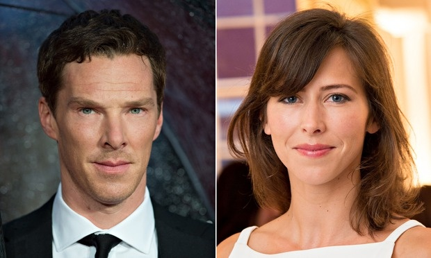Benedict Cumberbatch and fiancee Sophie Hunter