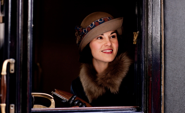Lady Mary is indeed happy that she'll be sharing her story with us for one more season!