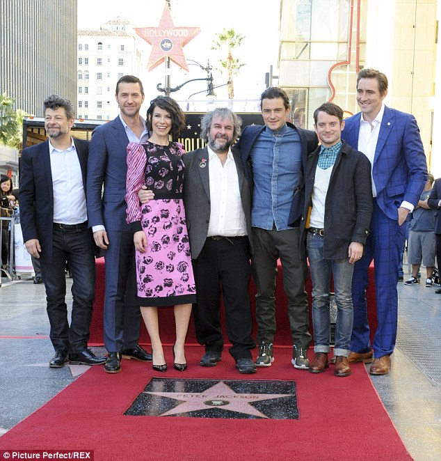 Andy Serkis, Richard Armitage, Evangeline Lilly, Jackson, Orlando Bloom, Elijah Wood