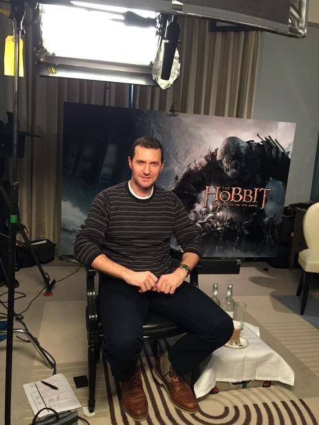 The Hobbit Press Tour Begins!