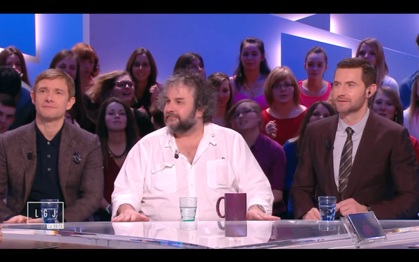 Peter Jackson, Martin Freeman and Armitage on Le Grand Journal