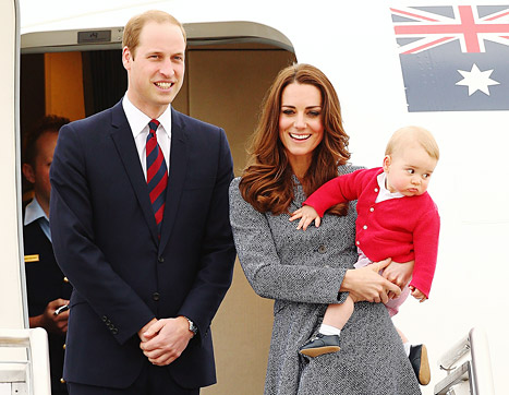 Will Prince George accompany the William and Catherine to NYC?