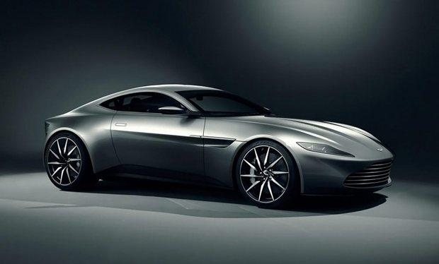 Bond's new ride!